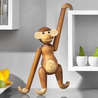 Kay Bojesen aap Kay Bojesens beroemde teakhouten aap betovert opnieuw. Nu van gecertificeerd plantageteak