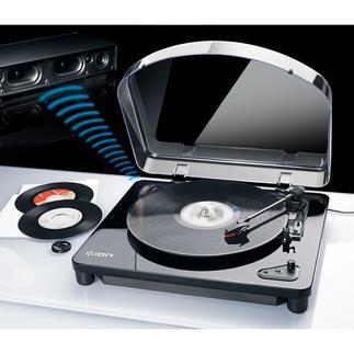 AirLP Bluetooth-/USB-platenspeler Eindelijk: genieten van muziek van oude en nieuwe vinylschatten.
