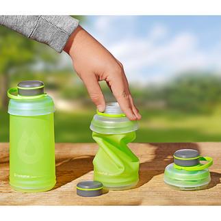 Opvouwbare drinkfles Deze comprimeerbare drinkfles is ideaal tijdens het wandelen, het kamperen en op reis.