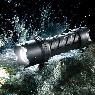 Coast led-zaklamp 'Waterproof' Krachtig, praktisch, waterdicht en verbazingwekkend voordelig.