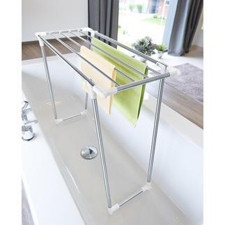 Ruimtebesparend droogrek Dankzij de diepte van slechts 39 cm ook perfect voor kleine ruimtes en smalle balkons.