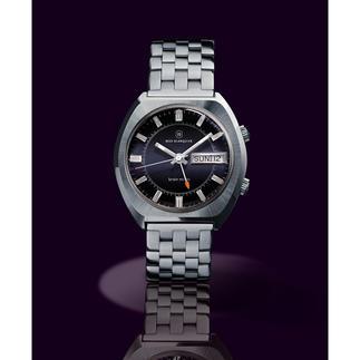 Blanquier wekkerhorloge '1973' Een unicum voor de liefhebber: met origineel uurwerk en originele kast uit de jaren 70. Gelimiteerde oplage.