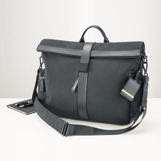 Moleskine® by Bric`s messenger bag Stijlvol design. Vele doordachte details. Ook zwaar bepakt nog goed te dragen.