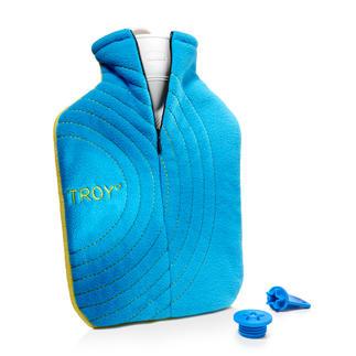 Troy° warmwaterkruik Verwarmt u meer dan twee keer zo lang en is veel veiliger. Met zout-pad, premium-hoes en veiligheidssluiting.