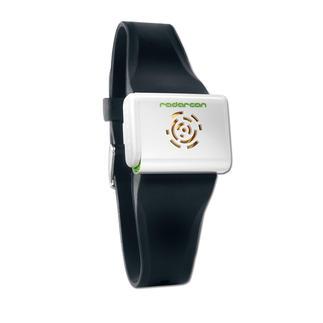 Ultrasone antimuggenarmband Mobiele muggenverdrijver met ultrasone trillingen. Gemakkelijk als armband te dragen.
