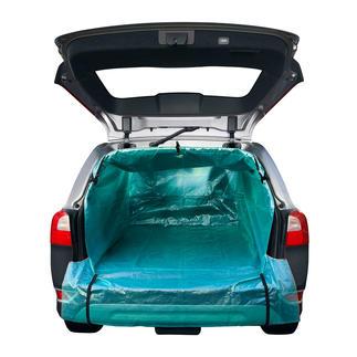 Auto-transportzak Perfect voor het vervoeren van tuinafval, puin, brandhout etc. Snel en zonder gereedschap aan te brengen.