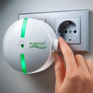 Puripod® ionen-luchtreiniger Zuivere omgevingslucht, of u nu thuis bent of ergens anders.