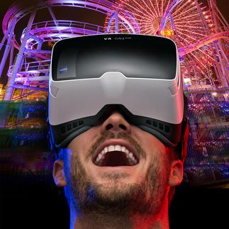 ZEISS VR ONE Plus bril inclusief gsm-slot De betere 3D-belevenis: Headtracking en 100 °-kijkhoek (in plaats van de gebruikelijke 45 °).