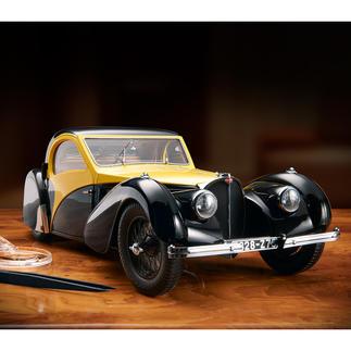 Bugatti Atalante Type 57SC schaal 1:12 Renaissance van een exclusieve auto. In gelimiteerde oplage van 500 stuks.