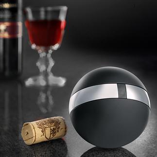 Rosendahl wijnbol Fascinerend design-object met verrassingseffect.