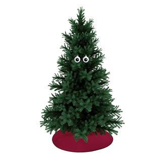 Oogbollen-kerstballen, set van 2 Een leuke blikvanger voor in uw kerstboom.