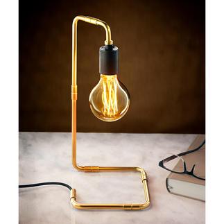 Industriële design-tafellamp Eindelijk een consistente lamp – waarbij alles aan het design klopt.