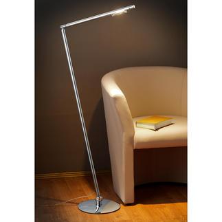 Staande lamp Tubi Een elegante lichtbron voor uw leeshoek of werkkamer, uw atelier, kantoor of praktijk.
