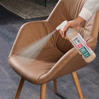Clean2go® Protect Plus De nieuwste vorm van vlek- en vochtbescherming. Zonder gebruik van oplosmiddelen of schadelijke aërosolen.