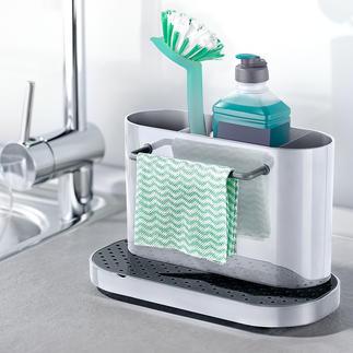 Wasbak-organizer Uw afwasspulletjes netjes, droog en binnen handbereik.