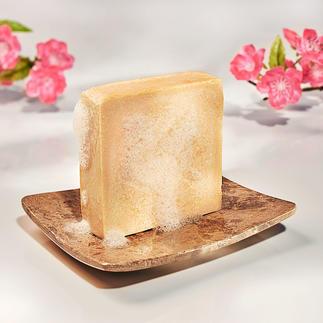 Melkzeep, set van 2 Verwennend als een luxueus melkbad. Handgemaakt en 100 % parfumvrij.