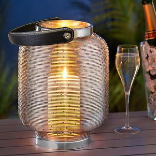 Glasloze lampionlantaarn Uniek: de lantaarn zonder glas. Dus zonder het gevaar het glas te breken.