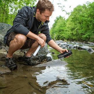 Waterfilterfles LifeStraw® Go Schoon water binnen een paar tellen. Past in elke rugzak en in elke tas.