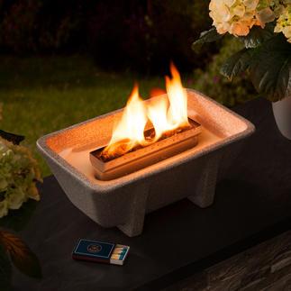 Schmelzfeuer® XL Granicium® Romantisch kaarslicht – krachtig en bestand tegen windvlagen.