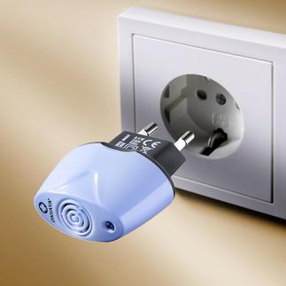 Anti-huisstofmijt-stekker 230 V-apparaat Elimineert de allergieverwekkers door ultrasoon geluid. Schoon, veilig en automatisch.