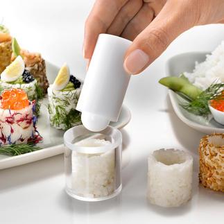 Easy-fingerfood-vorm U hoeft niet meer te rollen, laagjes te maken en te snijden.