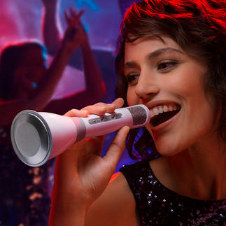 Bluetooth-karaokemicrofoon Compleet karaokesysteem in uw hand.