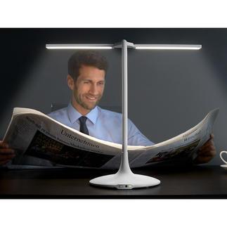 Draadloze tafellamp Eindelijk ook snoerloos: de 180 °-tafellamp met 3 lichttemperaturen, dimmer en timer.