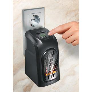 Miniverwarming voor het stopcontact Het flexibele en energiebesparende alternatief voor grote, zware kachels en radiatoren.
