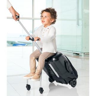 Micro Lazy Luggage Stevige harde trolley voor korte uitstapjes. En tegelijkertijd een trendy caddy voor kids.