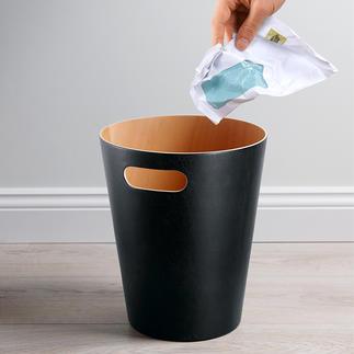 Prullenbak ʽWoodrow' Tijdloos elegant, eenvoudig design. Veel mooier dan plastic of koel metaal.