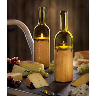 Wijnlicht Sfeervolle lichtbron voor een romantisch dinertje op het balkon of het terras.