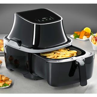 Caso heteluchtfriteuse AF 400 Ideaal voor vet- en caloriearm koken en voor grote porties.