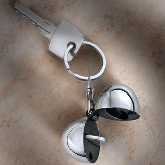 Design-sleutelhanger Coin In de hanger kunt u uw muntje altijd meenemen en is het altijd binnen handbereik.