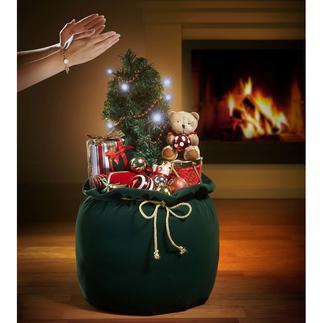 Kerstzak Een kerstdecoratie die een lust is voor ogen en oren.