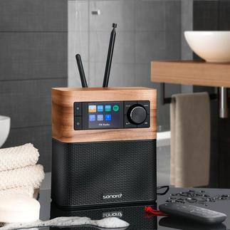 Muzieksysteem sonoroSTREAM Het compacte premium-audiosysteem, van sonoro, Duitsland.
