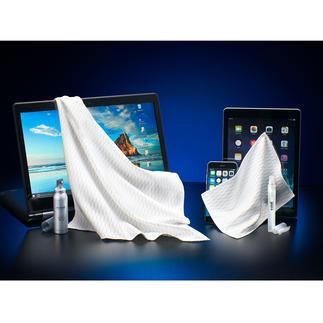 e-cloth® screen-reinigingsset, 4-delig Maak uw kostbare touchscreen met één veeg weer blinkend en hygiënisch schoon.