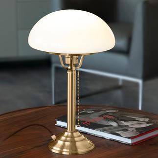 Berliner Messing tafellamp Een klassieker uit de begintijd van de elektriciteit.