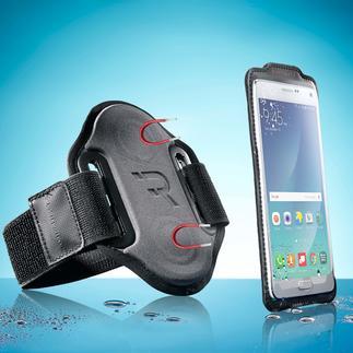 Sportarmband voor smartphone 'magnetic' Sms'jes lezen, telefoontjes aannemen, andere muziek opzetten, … u hoeft er nu niet meer voor te stoppen.