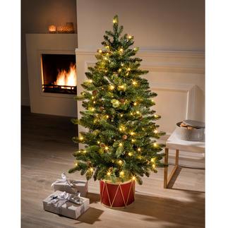 Kerstboom 'Noël' Fascinerend realistisch en kant-en-klaar, betoverende kerstversiering.
