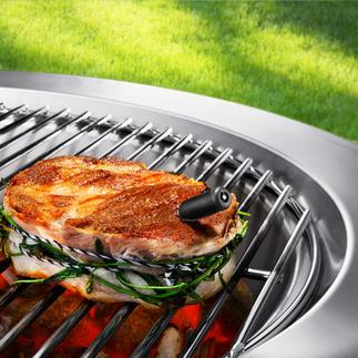 Draadloze vleesthermometer Eenvoudig en comfortabel direct via smartphone en/of tablet te bedienen.
