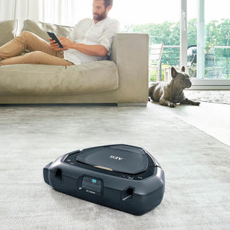 AEG robotstofzuiger RX9 3D Vision Reinigt ook hoeken optimaal. Navigeert middels de innovatieve 3D-Vision™-technologie.
