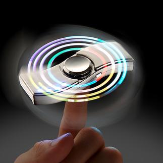 Fidget spinner deluxe Het populaire anti-stress-tolletje voor vrije tijd en kantoor.