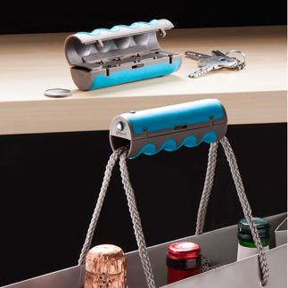 gripOne® draaghulp, 2-delige set De slimme draaghulp voor bijna alle zakken en tassen.