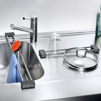 drip.line Ook handig als multifunctioneel rek voor de gootsteen om iets op neer te leggen of op uit te laten druppelen.