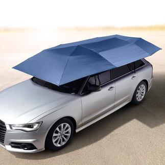 Draagbaar zonnescherm voor de auto Geniaal zonnescherm voor de auto: beschermt tegen UV-straling, hitte, regen, stof, vogelpoep, boomhars etc.