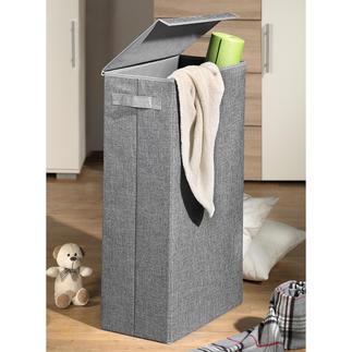 Ruimtebesparende opbergbox Hiermee bergt u op een stijlvolle manier vieze was, stoelhoezen, speelgoed, sport- of knutselspullen op.