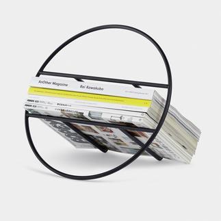 Design-tijdschriften-/platenhouder Dankzij het eenvoudige design vallen uw tijdschriften en lp's extra op.