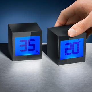 Magische kubusklok Wekker, kalender en countdown-timer in één.