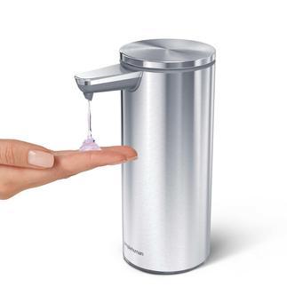 Sensor-zeepdispenser met automatische dosering Intuïtief, netjes en snel in gebruik.