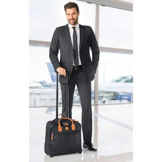 Bric`s businesstrolley Modieuze tas? Comfortabele trolley? Allebei.